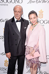Fawaz Gruosi, Lan Yu attending the de Grisogono party ahead the 70th Cannes Film Festival, at Eden Roc Hotel in Antibes, France on May 23, 2017. Photo Julien Reynaud/APS-Medias/ABACAPRESS.COM