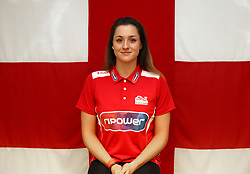 Team England's Molly Henshaw poses for a photo during the kitting out session at Kukri Sports HQ, Preston. PRESS ASSOCIATION Photo. Picture date: Friday February 9, 2018. Photo credit should read: Simon Cooper/PA Wire. RESTRICTIONS: Editorial use only, No commercial use without prior permission.