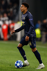 November 7, 2018 - Turin, Italy - Jesse Lingard of Manchester United in action during the Group H match of the UEFA Champions League between Juventus FC and Manchester United FC on November 7, 2018 at Juventus Stadium in Turin, Italy. (Credit Image: © Mike Kireev/NurPhoto via ZUMA Press)