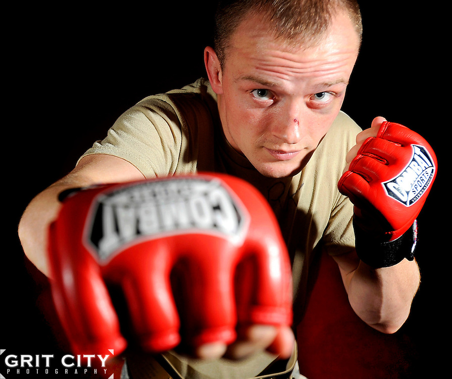 Sgt. Joe Clark took first place in the flyweight 125-pound division at the fifth annual 2009 Army Combatives Tournament Sept. 20 at Fort Benning, Ga.