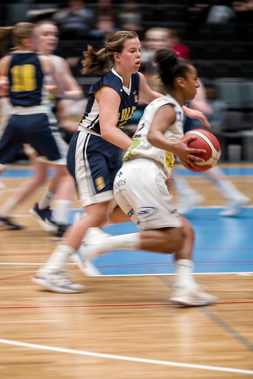 ÖSTERSUND 20200119<br /> Action under söndagens match i Basketettan mellan Östersund Basket och RIG Liuleå i Östersunds Sporthall.<br /> <br /> Foto: Per Danielsson/Projekt.P