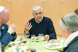 15 March 2019, Jerusalem: On 15 March, a group of Ecumenical accompaniers from the World Council of Churches were invited to share Shabbat dinner with the Kol HaNeshama congregation in Jerusalem. Kol HaNeshama is a reformed Jewish congregation of 350 families in Jerusalem, and one that works actively to be a focal point for Jewish pluralism and social action in the area. With parents originally from Poland, Israel-born Amos was one of the congregants receiving the ecumenical accompaniers at the dinner, affording them an opportunity to learn about Israeli perspectives on the conflict, to share reflections and exchange experiences.