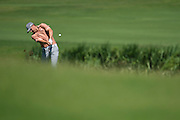 Jordan Spieth hits from the fairway during the final round of the AT&T Byron Nelson in Las Colinas, Texas on May 31, 2015. (Cooper Neill for The New York Times)
