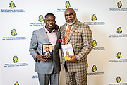 """North Carolina Agricultural and Technical State University's spring Chancellor's Speaker Series brought master communicator, multidimensional businessman and international thought leader T.D. Jakes to campus on Thursday, April 11, 2019. Jakes expounded on the topic, """"Living Your Best Life,"""" to an audience of approximately 4,000 students and community members. As CEO of TDJ Enterprises, Jakes has more than 40 books in print, including 2017's """"Soar,"""" which delves into the mind of the entrepreneur. He has produced nine films that have grossed more than $300 million to date, including 2016's """"Miracles from Heaven"""" and this year's """"A Dog's Way Home."""" Known for his ability to insightfully interpret, explain and deliver complex ideas and situations in a concise and relevant manner, Jakes' commanding voice has bylined articles for The Washington Post, The Huffington Post, Newsweek Inc. and Bloomberg Businessweek. In addition, his humanitarian efforts span the globe through educational, healthcare, criminal justice, economic empowerment, and disaster preparedness, aid and recovery initiatives. Jakes also excels in his role as pastor to more than 30,000 members at The Potter's House in Dallas with more than 22 million online followers on his platform, """"Bishop's Village.""""<br /> <br /> The Chancellor's Speaker Series was created to bring nationally distinguished guests to N.C. A&T for campus dialogue on matters of current and abiding importance to the university community and the world beyond. It is part of the university's commitment to creating an intellectual climate that encourages the creative exchange of ideas.<br /> <br /> <br /> <br /> (Chris English/Tigermoth Creative)"""