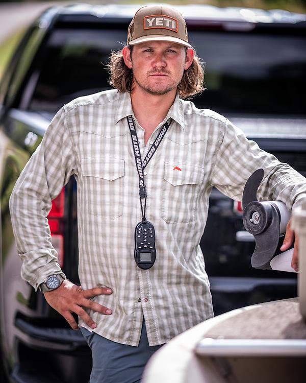 Texas fly fishing guide Dylan Mendoza