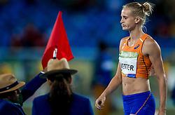12-08-2016 BRA: Olympic Games day 7, Rio de Janeiro<br /> De Europese kampioene Anouk Vetter stootte de kogel in Rio de Janeiro in haar beste poging naar een afstand van 14,78 meter.