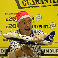 Edinburgh 18th December 2007 Ryanair's CEO Michael O'Leary announces five new routes from Edinburgh to Alicante, Bremen, Frankfurt, Marseille, Pisa from March 2008. The new routes are part of Ryuanair's largest ever new route expansion to 50 new European destination