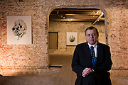 Moscow, Russia, 13/12/2006.&#xA;Kurt Schmidt of financial firm UBS at a photographic exhibition sponsored by the company in the Schusev State Museum Of Architecture.<br />