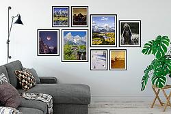 Jackson Hole Fine Art Print Display