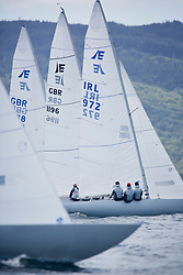 Clyde Cruising Club's Scottish Series 2019<br /> 24th-27th May, Tarbert, Loch Fyne, Scotland<br /> <br /> Day  1 - Perfect Conditions for Etchells fleet with IRL972, Lock n? Load, P Judd & A Holmes, RGYC, Etchells 22<br /> <br /> Credit: Marc Turner / CCC
