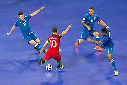 Ricardinho of Portugal during futsal quarterfinal match between National teams of Portugal and Azerbaijan at Day 8 of UEFA Futsal EURO 2018, on February 6, 2018 in Arena Stozice, Ljubljana, Slovenia. Photo by Urban Urbanc / Sportida