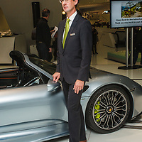 Dr. Frank-Steffen Walliser, Project leader on 918 Spyder project at the Porsche Museum in 2014