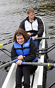 Brighton, USA,  Community Rowing Inc. Rowing Outreach Program rowing event, with the Great Eight, held at the CRI. <br /> . <br />  <br /> , Charles River, Boston, Massauchettes   Thursday   15/10/2009  [Mandatory Credit Peter Spurrier Intersport Images]