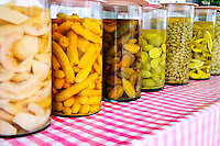 Pickled fruits and vegetables, Thailand
