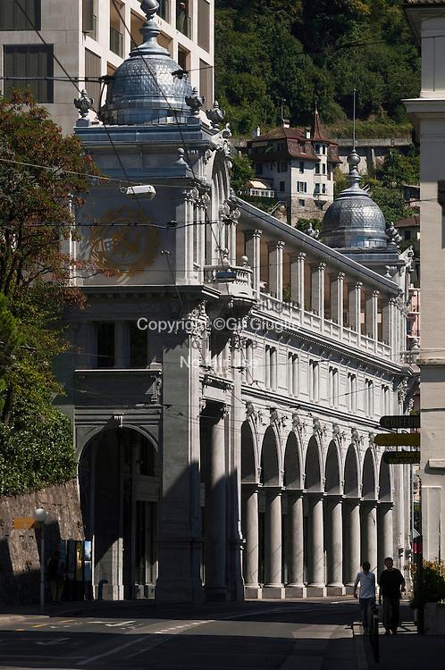 Suisse, Canton de Vaud, Région du Léman, Montreux, centre-ville // Switzerland, Canton of Vaud, region of Leman, Montreux, downtown