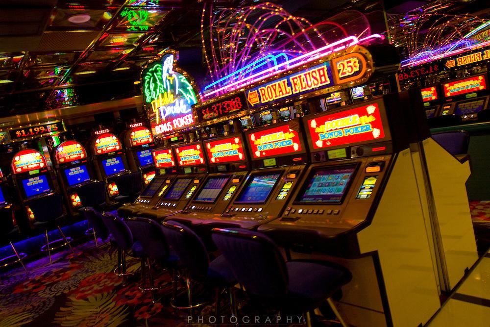 The Atlantis casino in Reno NV and slot machines in the casino