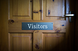 Embargoed to 0001 Monday August 28 The visitors team changing room Lynton & Lynmouth Cricket Club before the annual friendly match between Cravens Cavaliers and Lynton & Lynmouth Cricket Club at the ground based inside the Valley of Rocks, North Devon, on Saturday August 5th, 2017.