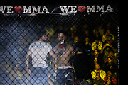 Kampfsport: MMA, We love MMA, Oberhausen, 31.01.2015<br /> Hamed Gelitsch (Combat Club Cologne)<br /> © Torsten Helmke