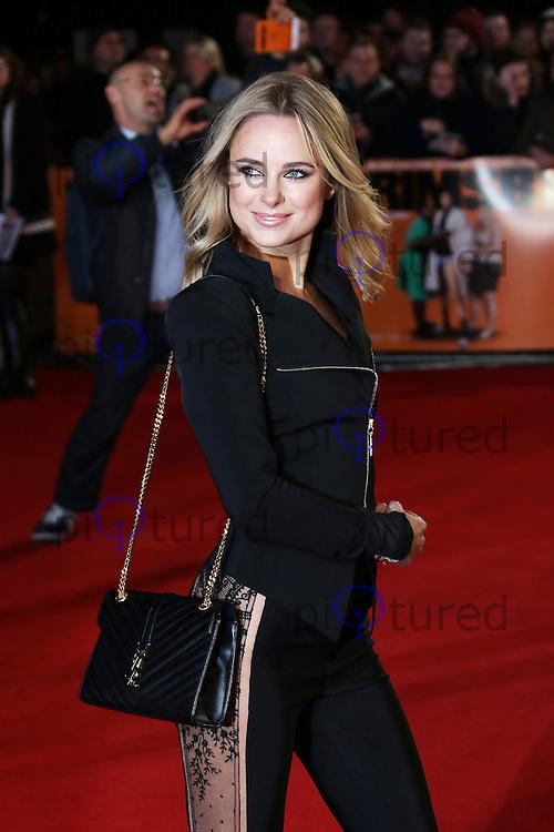Kimberley Garner, Grimsby - World film premiere, Leicester Square, London UK, 22 February 2016, Photo by Richard Goldschmidt
