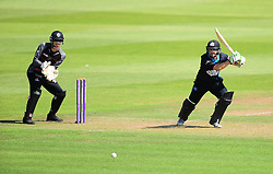 Daryl Mitchell of Worcestershire in action.  - Mandatory by-line: Alex Davidson/JMP - 17/08/2016 - CRICKET - Cooper Associates County Ground - Taunton, United Kingdom - Somerset v Worcestershire Rapids - Royal London One Day Cup Quarter Final