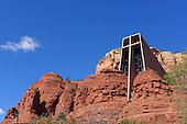 The Chapel built in the Arizona desert