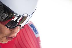 September 19, 2017 - Bergen, NORWAY - 170919 SÂ¿ren W¾renskjold of Norway on the start line ahead of the Men Junior Individual Time Trial on September 19, 2017 in Bergen..Photo: Jon Olav Nesvold / BILDBYRN / kod JE / 160021 (Credit Image: © Jon Olav Nesvold/Bildbyran via ZUMA Wire)