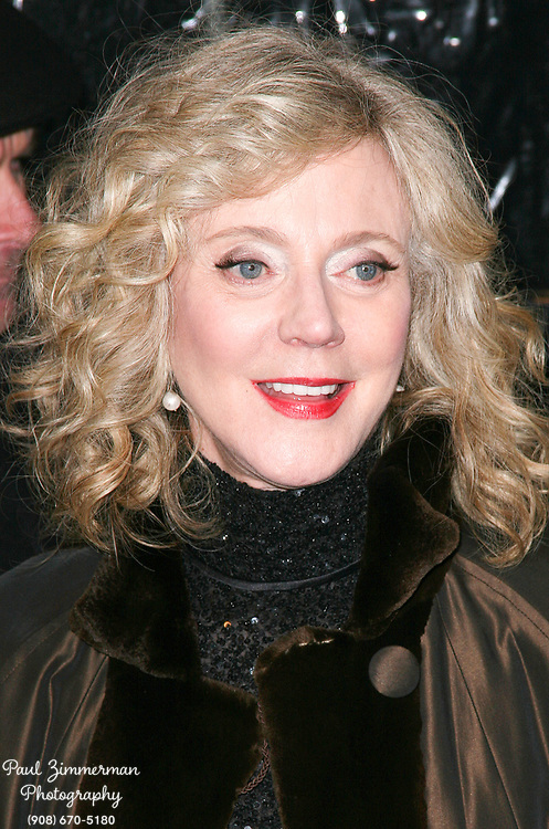 15 December 2010 - New York, NY -  Blythe Danner.  The world premiere of 'Little Fockers' at Ziegfeld Theatre on December 15, 2010 in New York City. Photo Credit: Paul Zimmerman/AdMedia