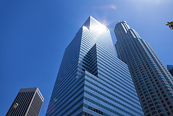 Modern skyscrapers in downtown Los Angeles, USA (Credit Image: © Image Source/David Jakle/Image Source/ZUMAPRESS.com)