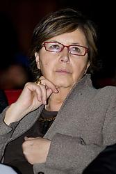 """Roma 21/01/2009 - IV Conferenza nazionale sul Digitale Terrestre dal titolo """"Niente è come prima"""". NELLA FOTO: Mercedes Bresso, Presidente della Regione Piemonte."""