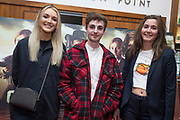 NO FEE PICTURES<br /> 22/8/19 Ellen and Sean Gormley and Blanca Scohfield-Legorburo at the Irish Preview screening of Never Grow Old at the Savoy cinema in Dublin Picture: Arthur Carron