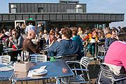 Alfresco dining, Brussels, Belgium