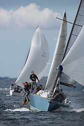 RWYC's Savills Kip Regatta  9-10th May 2015 -Excellent conditions for the opening racing of the Clyde Season. <br /> <br /> Class 1's  Corby 37, Aurora,  sailed by Rod Stuart<br /> <br /> <br /> Credit : Marc Turner / PFM