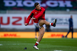 Callum Sheedy of Wales warms up - Mandatory by-line: Robbie Stephenson/JMP - 28/11/2020 - RUGBY - Parc y Scarlets - Swansea, Wales - Wales v England - Autumn Nations Cup