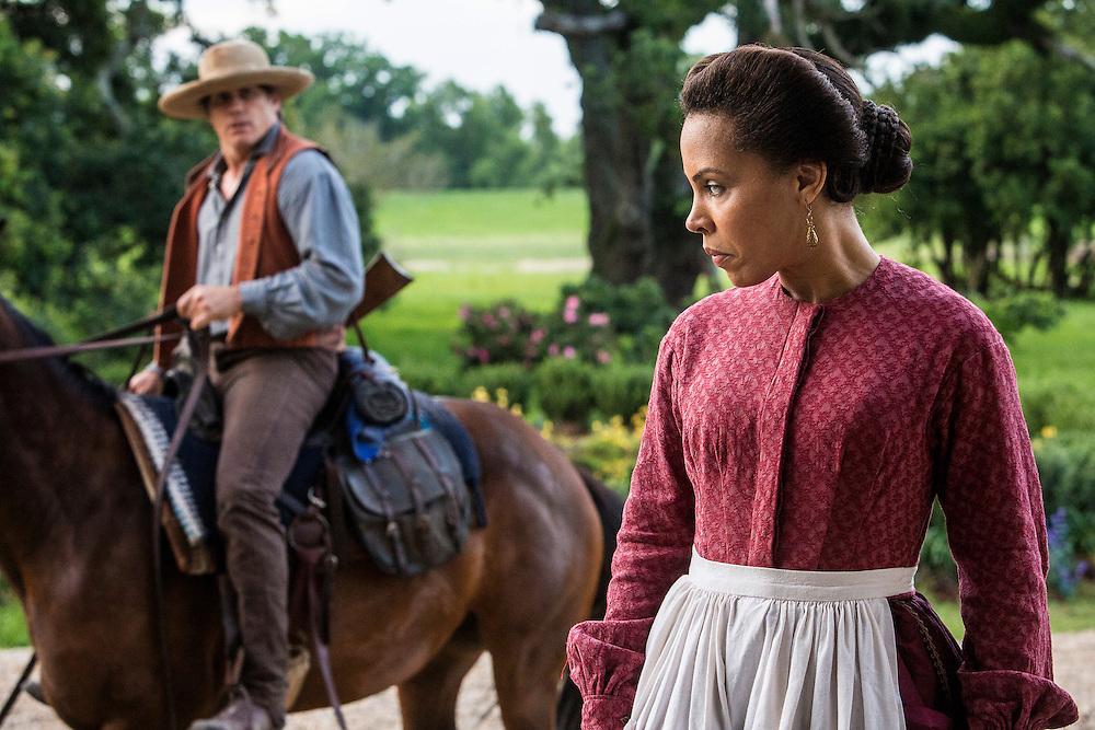 """Amirah Vann as Ernestine in WGN America's """"Underground."""""""
