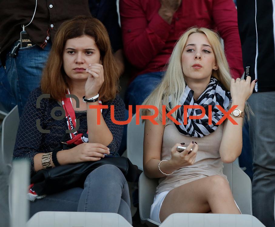 Besiktas's and Fenerbahce's during their Turkish Super League soccer derby match Besiktas between Fenerbahce at the Ataturk Olimpiyat stadium in Istanbul Turkey on Sunday, 27 September 2015. Photo by Kurtulus YILMAZ/TURKPIX