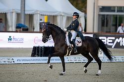 Abollo Fontela Alba, ESP, Elvillar CS<br /> European Championship Dressage Hagen 2021<br /> © Hippo Foto - Dirk Caremans<br />  07/09/2021