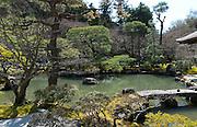 Japan, Kyoto, Ginkaku-ji (Jish?-ji or Temple of the Silver Pavilion) Zen Buddhist temple