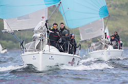 Silvers Marine Scottish Series 2017<br /> Tarbert Loch Fyne - Sailing Day 3<br /> <br /> GBR7060N, Seaword, Dara O'Malley, PEYC
