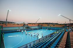 View of arena during handball match between RK Celje Pivovarna Lasko and RD Koper 2013 of Super Cup 2016, on August 27, 2016 in SRC Marina, Portoroz / Portorose, Slovenia. Photo by Matic Klansek Velej / Sportida