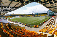 General view during the Scottish Premiership match between Livingston and Aberdeen at Tony Macaroni Arena, Livingstone, Scotland on 1 May 2021.