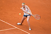 Paris, France. Roland Garros. June 1st 2013.<br /> Byelorussian player Victoria AZARENKA against Alize CORNET