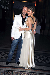 HOFIT GOLAN and SCOTT HENSHALL at British Style Observed - part of National Magazine's 30 Days of Fashion & Beauty festival featuring photographs by Mary McCartney with proceeds from the evening going to Macmillan Cancer Care held at the Natural History Museum, Cromwell Road, London on 16th September 2008.