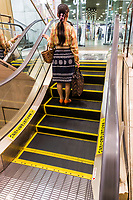 """The World's Shortest Escalator - <br /> More's Department Store has an eslcalator with only 5 steps, which is almost completely useless even for the chronically lazy.  It seems to have no real purpose, other than to qualify as """"The World's Shortest Escalator"""" in the Guinness Book of World Records.  This majestic little gem is famous, and you will see people riding it several times in amazement just to be able to say """"I rode the world's shortest escalator for no real reason"""",  especially since the trip takes less than 5 seconds.  The """"Puchicalator"""" is useless in so many ways, except for its novelty.  rOn the other hand, the world's longest escalator is in Central Hong Kong,  not too far behind is the one in Kyoto Station, that will take you halfway up to the stars."""