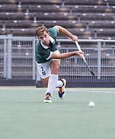 AMSTELVEEN - Tristan Algera (Rotterdam) tijdens de competitie hoofdklasse hockeywedstrijd heren, Amsterdam -Rotterdam (2-0) .  COPYRIGHT KOEN SUYK