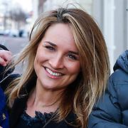 NLD/Leiden/20130210 - Premiere Woezel & Pip - Alles is fijn, Lieke van Lexmond met nichtje