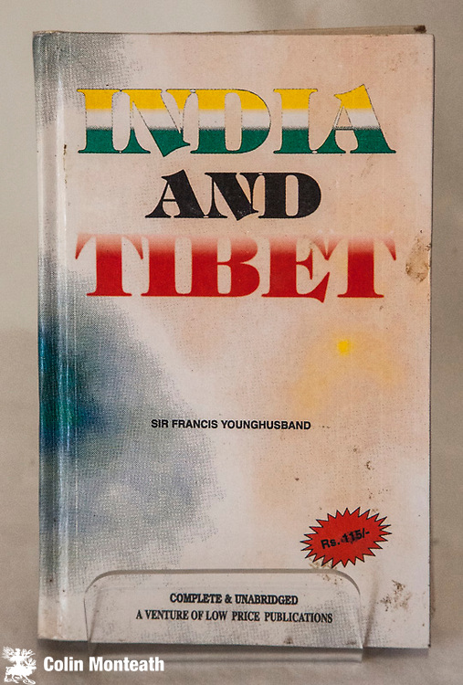 INDIA AND TIBET, Sir Francis Younghusband, Indian facsimile, New Delhi, 1994, 450 page hardback, no jacket as issued, large fold-out map, B&W plates originallly published 1910 - A history of the relations between India and Tibet from the time of Warren Hastings to 1910 - with a section on the British mission to Lhasa in 1904 led by Younghusband $NZ60 (Arnold Heine Collection)