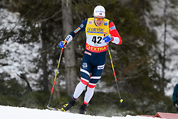 November 24, 2018 - Ruka, FINLAND - 181124 Martin Løwstrøm Nyenget of Norway competes in the men's sprint classic technique prologue during the FIS Cross-Country World Cup premiere on November 24, 2018 in Ruka  (Credit Image: © Carl Sandin/Bildbyran via ZUMA Press)