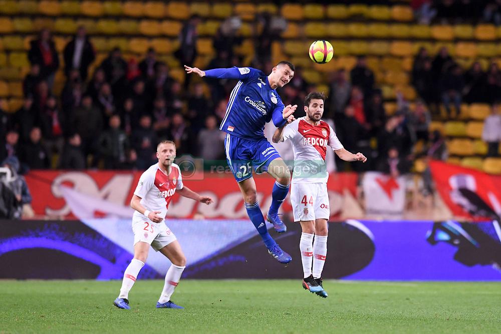 January 19, 2019 - Monaco, France - 25 LUDOVIC AJORQUE (STRA) - 44 CESC FABREGAS  (Credit Image: © Panoramic via ZUMA Press)