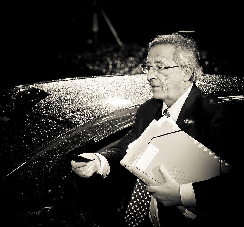 20101216 - BRUSSELS, BELGIUM:<br /> Luxembourg Prime Minister Jean-Claude Juncker arrives for the European Union head of states meeting, in Brussels.<br /> Photo: SCORPIX /  Patrick Mascart