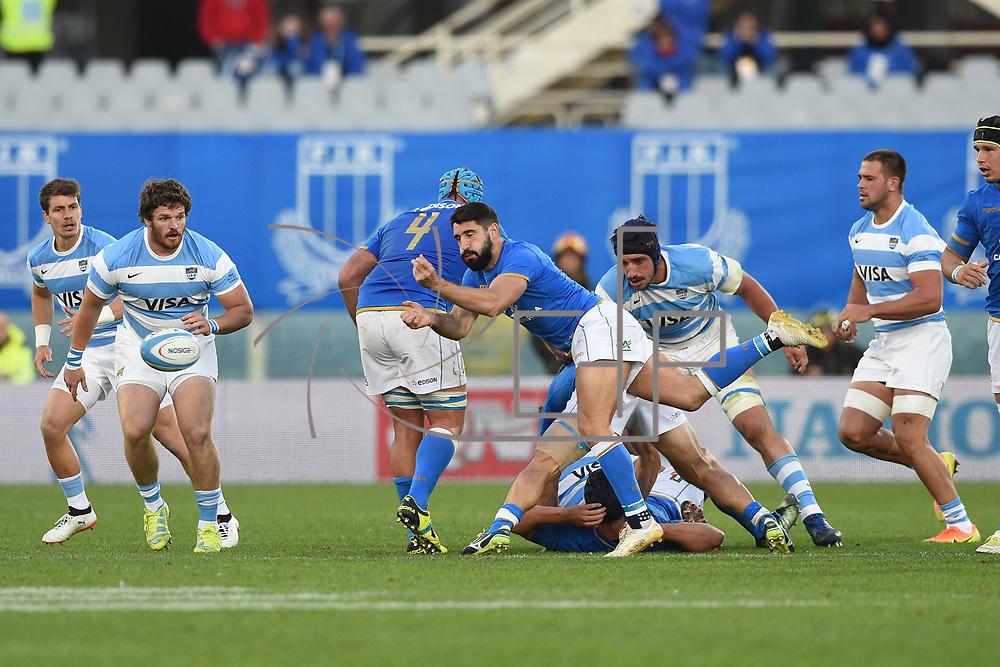 Firenze 18/11/2017 Stadio Artemio Franchi<br /> Cariparma test match 2017<br /> Italia vs Argentina<br /> Tito Tebaldi
